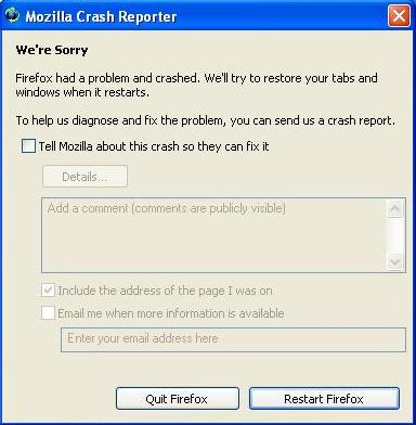 firefox-crash